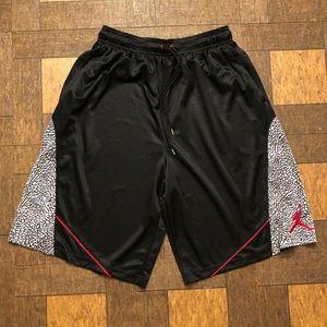 Men's Jordan Nike Retro 3 Elephant Print Shorts
